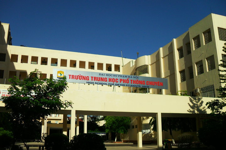 Trường THPT Chuyên Sư phạm   ĐH Sư phạm Hà Nội